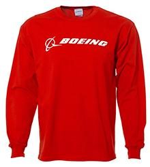 Реглан Boeing Long Slv Signature T-shirt (red)