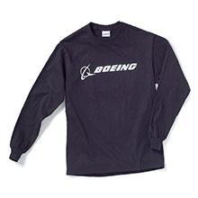Реглан Boeing Long Slv Signature T-shirt (navy)