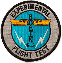 Нашивка Boeing Totem Flight Test Patch