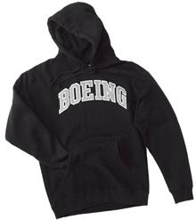 Толстовка Varsity Pullover Hooded Sweatshirt (black)