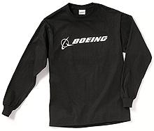 Реглан Boeing Long Slv Signature T-shirt (black)