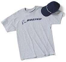 Комплект Boeing Signature Hat & T-shirt Set