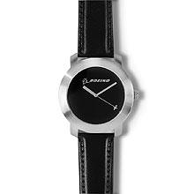 Наручний годинник для чоловіків Boeing Silver Rotating Airplane Watch