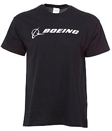 Футболка Boeing Signature T-Shirt Short Sleeve (black)