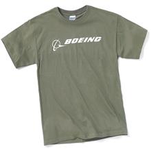 Футболка Boeing Signature T-Shirt Short Sleeve (military green)