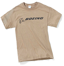 Футболка Boeing Signature T-Shirt Short Sleeve (prairie dust)
