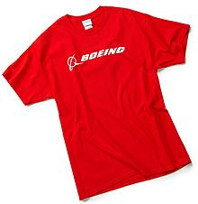 Футболка Boeing Signature T-Shirt Short Sleeve (red)