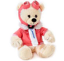 Маленький ведмедик іграшка Boeing Aviator Bear (рожевий)