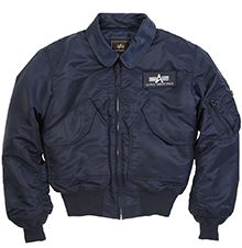 Куртка пілот Alpha Industries CWU 45/P Flight Jacket (Rep.Blue) MJC22000C1