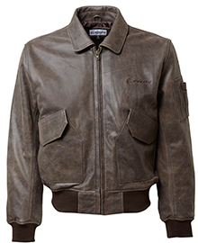 Шкіряна куртка Boeing CWU 45/P Leather Bomber Jacket (коричнева)