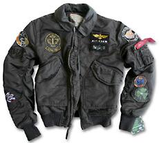 Куртка CWU Pilot X Jacket Alpha Industries (чорна)