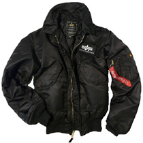 Куртка пілот CWU 45/P Alpha Industries (чорна)