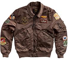 Куртка CWU Pilot X Alpha Industries (коричнева)