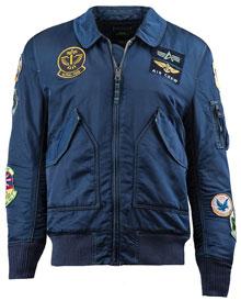 Куртка CWU Pilot X Alpha Industries (синя)