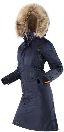 Жіноча зимова куртка N-7B Eileen Airboss 173000773121 (синя)