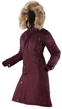 Жіноча зимова куртка N-7B Eileen Airboss 173000773121 (бордова)