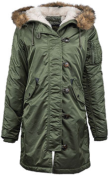 Жіноча парка Alpha Industries Elyse Parka (Sage Green) WJE45500C1