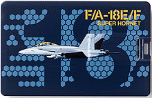 Флешка-кредитка Boeing F/A-18E/F Super Hornet Credit Card USB Drive - 8GB