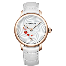 Швейцарський оригінальний наручний годинник Aerowatch Renaissance Swirl & Swirling Love 44938RO21
