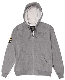 Реглан Alpha Industries Hutton (Heather Grey) MSH43902C1