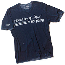 Футболка If It's Not Boeing, I'm Not Going Heritage T-Shirt