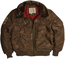 Бомбер Alpha Industries Injector (Brown) MJI38016C1