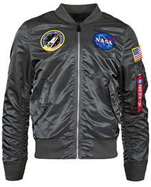 Вітровка L-2B NASA Flight Jacket Alpha Industries (gun metal)