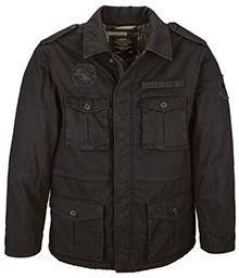 Польова куртка утеплена Alpha Industries M-65 Altimeter (Black) MJM44522B