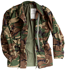 Польова куртка Alpha Industries M-65 Field Coat (Woodland Camo) MJM24000C1