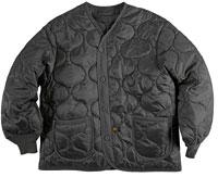 Підстібка-утеплювач Liner (ALS/92) для куртки M-65 Alpha Industries (Black) MJL48000C1
