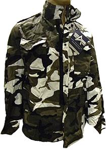 Куртка Alpha Industries M-65 Field Coat (urban camo)