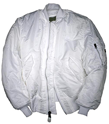 Бомбер Alpha Industries MA-1 Flight Jacket (White) MJM21000C1