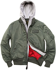Куртка-бомбер Alpha Industries MA-1 D-TEC (Sage green) MJM38029C1