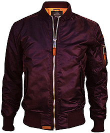 Бомбер Top Gun MA-1 bomber jacket (burgundy) TGJ1540