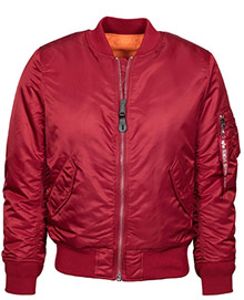 Жіночий бомбер Alpha Industries MA-1 W Flight Jacket (commander red) WJM44500C1