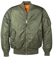 Жіноча куртка бомбер Alpha Industries MA-1 W Flight Jacket (Sage Green) WJM44500C1
