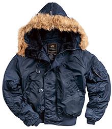 Куртка аляска N-2B Parka Alpha Industries (синя)