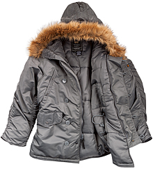 Куртка аляска Alpha Industries N3-B Parka (Gun metal) MJN31000C1