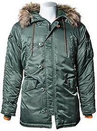 Куртка аляска Top Gun N-3B Parka (оливкова)
