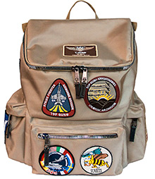 Рюкзак Top Gun backpack with patches (хакі)