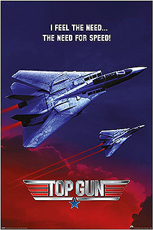 "Плакат Top Gun ""The Need For Speed"""