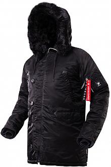 Куртка аляска Airboss Winter Parka 171000123221 (чорна)