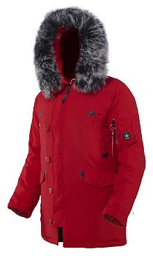 Куртка аляска Airboss Snorkel Parka 171000133223 (червона)