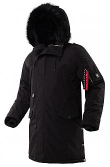 Куртка аляска Airboss N-5B Tardis (чорна) 175000803228