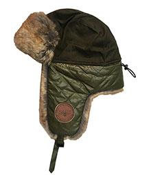 Зимова шапка Top Gun Checkered Winter Hat (оливкова)