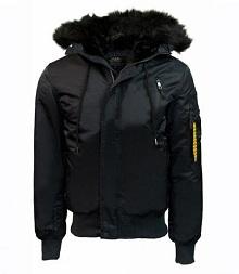 Оригінальний куртка аляска Top Gun N-2B Nylon Jacket (Black) TGJ2030