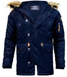 Куртка аляска Top Gun N-3B Parka (синя)