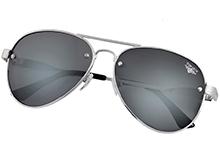 """Поляризаційні сонцезахисні окуляри Top Gun Polarized Aviator """"Rivet"""" (срібні)"""
