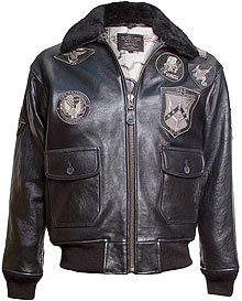 Шкіряна куртка Топ Ган Top Gun Official Signature Series Jacket (Black) Top Gun