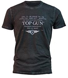 "Футболка Top Gun ""Specs-Logo"" Tee (чорна)"